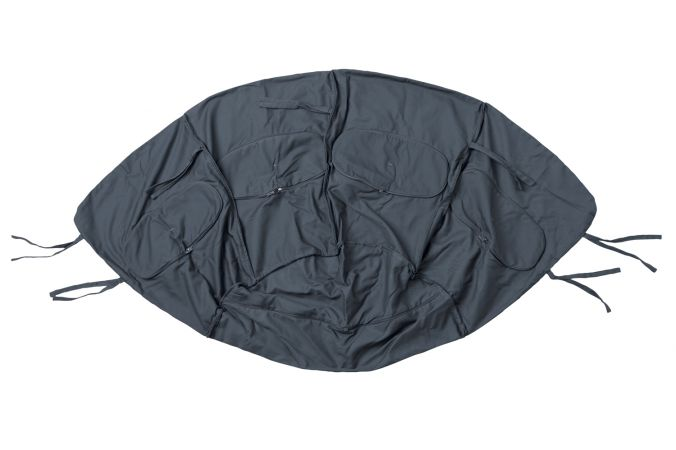 Hängesessel Single 'Globo' Weatherproof Anthracite