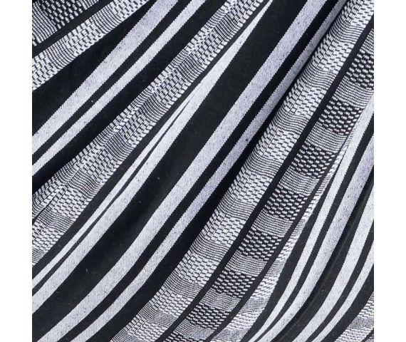 Decke 'Comfort' Black White